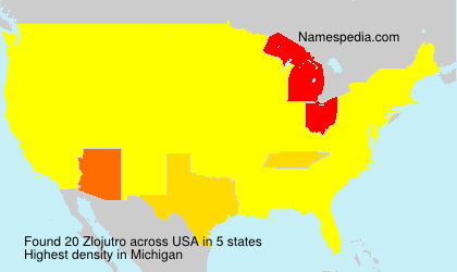 Surname Zlojutro in USA