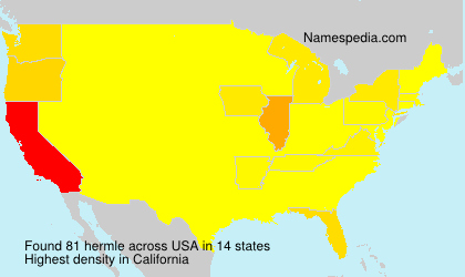 Surname hermle in USA